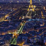 Bird's Eye On Paris 2 Poster