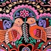 Birds In Love Poster