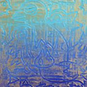 Birds Of Blue Poster