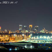 Birmingham Airport ,skyline Poster