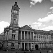 Birmingham Museum And Art Gallery With Clock Tower On Chamberlain Square Uk Poster