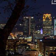 Birmingham Skies Poster