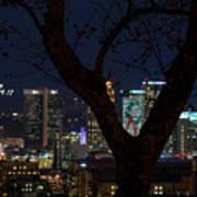 Birmingham Skyline Poster