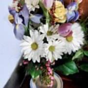 Birthday Bouquet Poster