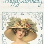 Birthday Lady Poster