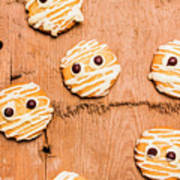 Biscuit Gathering Of Monster Mummies Poster