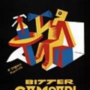 Bitter Campari - Aperitivo - Vintage Beer Advertising Poster Poster