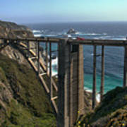 Bixby Creek Bridge 5 Poster