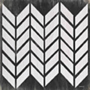 Black And White Quilt Poster
