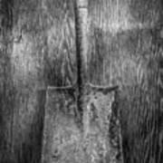 Square Point Shovel 3 Poster