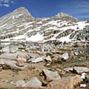 Black Bear Lake Camp - Sierra Poster