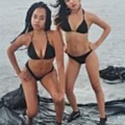 Black Bikinis 4 Poster