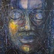 Black Buddha Poster