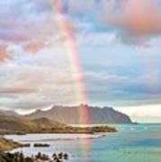 Black Friday Rainbow Poster