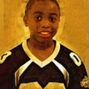 Young Black Male Teen 6 Poster