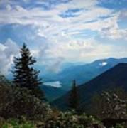 Black Mountain On Blue Ridge Poster