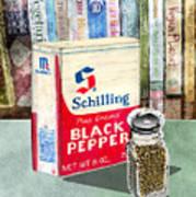 Black Pepper Poster
