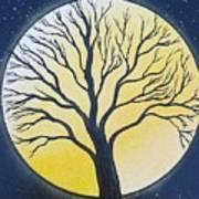 Black Tree Poster