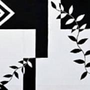 Black Vs White Again Poster