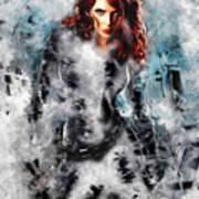 Black Widow Scarlett Johansson Poster