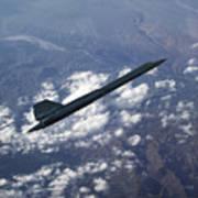 Blackbird Going Supersonic Poster