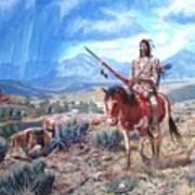 Blackfoot Warrior Poster