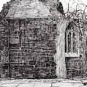 Blackfriars Chapel St Andrews Poster