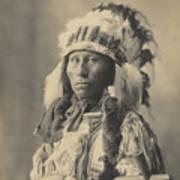 Blackheart Ogalalla Sioux Poster