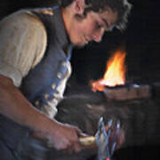 Blacksmith - Pioneer Village Poster