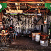 Blacksmith Shop By Kaye Menner Poster