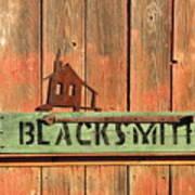 Blacksmith Sign Poster