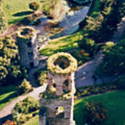 Blarney Castle Ruins In Ireland Poster