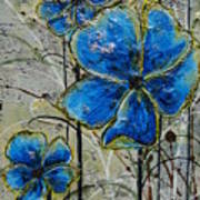 Blau Poster