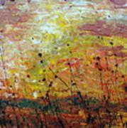 Blazing Prairie Poster