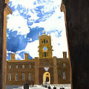 Blenheim Palace England Poster