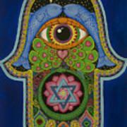 Blessing Poster by Galina Bachmanova