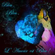 Bleu Bleu L Amour Est Bleu Poster
