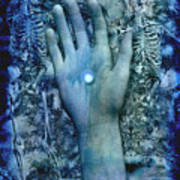 Bleu Danse Macabre Poster