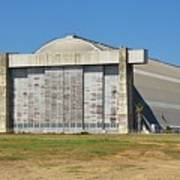 Blimp Hanger From Closed El Toro Marine Corps Air Station Poster