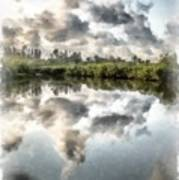Blind Pass Bayou Sanibel Island Florida Poster