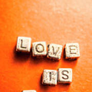 Block Quotes On Love Is All  Poster