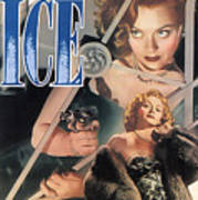 Blonde Ice Film Noir Poster