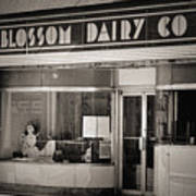 Blossom Dairy Co. Poster