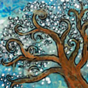 Blossom Tree - Miniature Art Poster