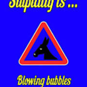 Blowing Bigstock Donkey 171252860 Poster