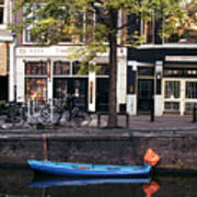 Blu Boat Poster