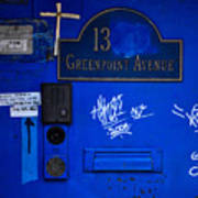 Blue 13 Poster