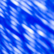 Blue Abstract 1 Poster