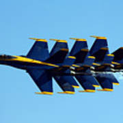Blue Angels 1-4 Poster