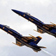 Blue Angels Iv Poster